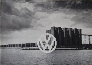 Volkswagen Modellprogramm 1950 Automobilprospekt