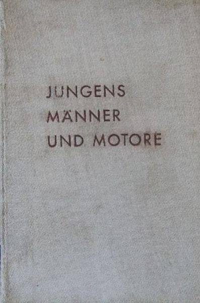 """Stoll """"Jungens, Männer und Motoren"""" Motorrennsport-Saison 1940"""