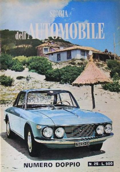 """Storia dell'Automobile"" Automobil-Zeitschrift kompletter Jahrgang 1967"