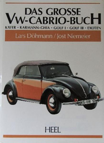 "Döhmann ""Das grosse VW-Cabrio-Buch"" VW-Historie 1993"
