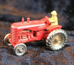 Matchbox Lesney Traktor Massey-Harris A4 Metallmodell 1960