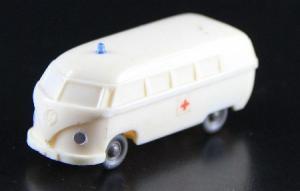 Wiking Volkswagen Bus T1 Krankenwagen unverglast 1955