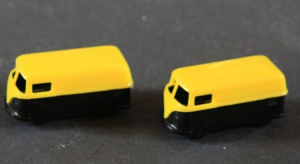 "Volkswagen Bus T1 ""Jacobs Kaffee"" Werbemodell Plastik 1960"