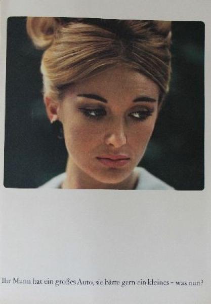 Opel Kadett Modellprogramm 1964 Automobilprospekt