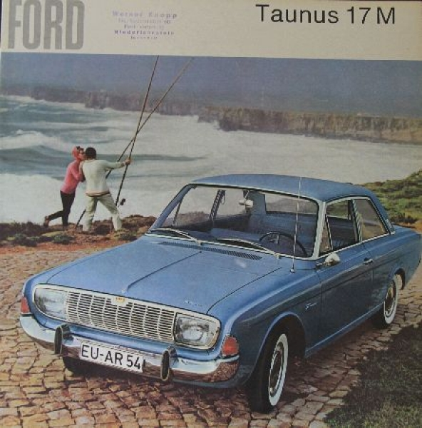 Ford Taunus 17 M 1965 Automobilprospekt