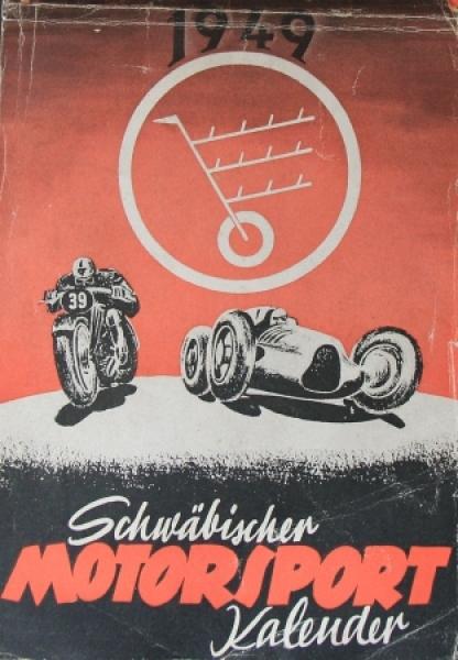 Schwäbischer Motorsport Kalender 1949