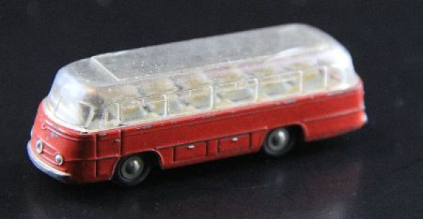 Schuco Piccolo Mercedes Benz Bus O321 Metallmodell 1965