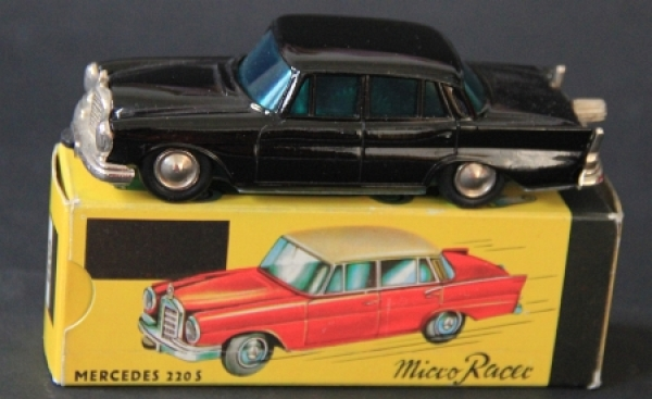 Schuco-Lilliput Mercedes Benz 220 SE 1965 Micro-Racer