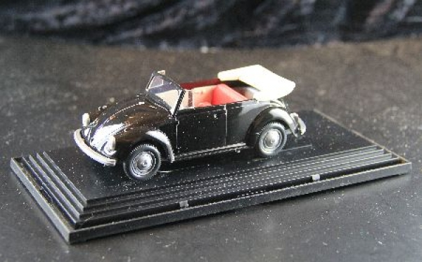 Wiking Volkswagen Käfer Cabrio 1970 Plastikmodell in Originalbox