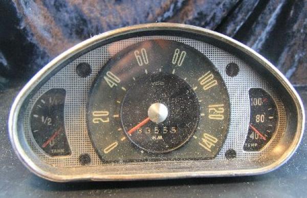 Ford Taunus 12M Weltkugel VDO-Tachometer 1952