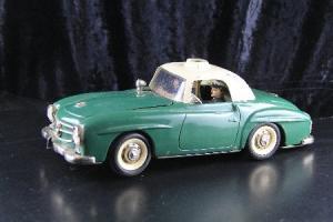 Schuco Mercedes Benz 190 SL Elektro Razzia Metallmodell 1960