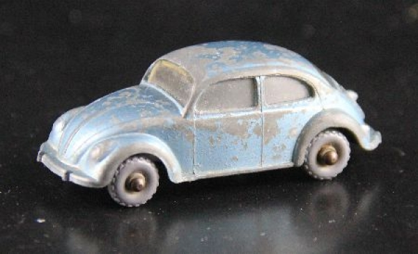 Matchbox Lesney Volkswagen Käfer 1958 Metallmodell