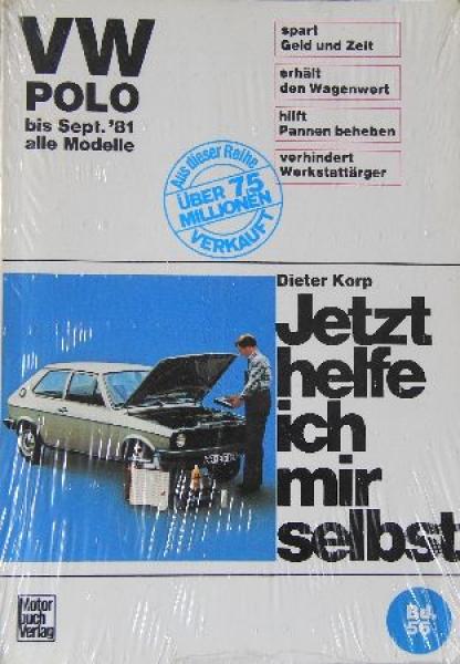 """Korp """"Volkswagen Polo - Jetzt helfe ich mir selbst"""" Band 56 - 1981"""