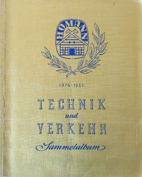 """Homann """"Technik und Verkehr"""" Sammelalbum 1951"""