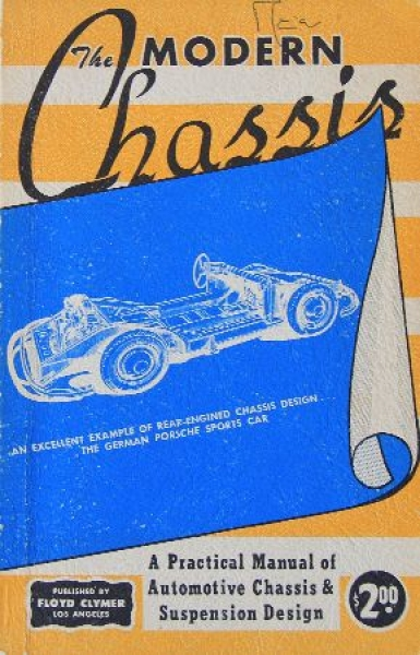 "Clymer ""The modern Chassis - Practical Manual"" Fahrzeug-Technik 1951"