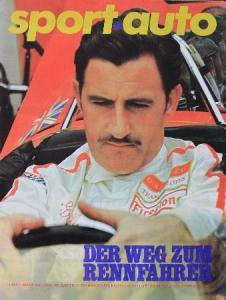 """""""Sport Auto - Der Weg zum Rennfahrer"""" Motorsportmagazin 1969"""