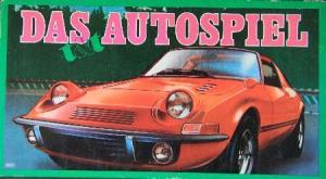 """Altenburger """"Das Autospiel für Teens & Twens"""" Kartenspiel 1969"""