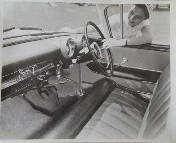 Vauxhall Cresta Innenraum Werksphoto 1958