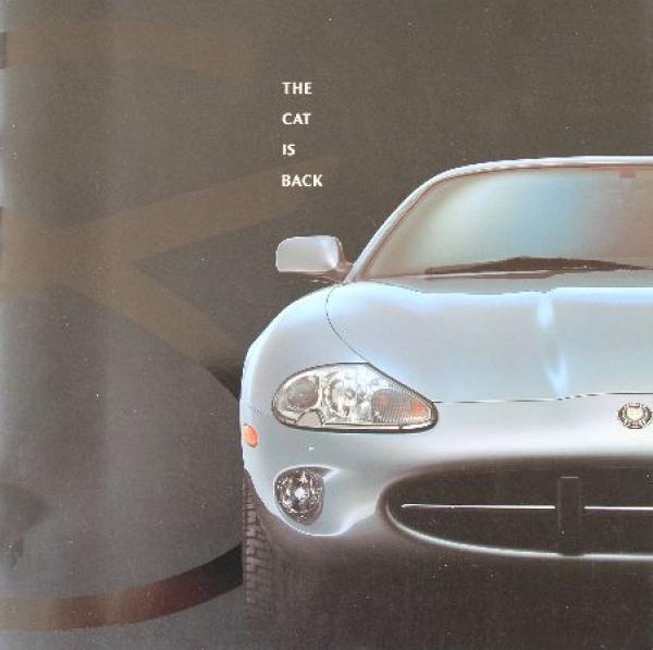 "Jaguar XK 8 ""The cat is back"" Modellprogramm 1996 Automobilprospekt"