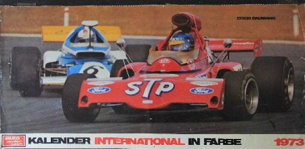 Auto, Motor & Sport Kalender in Farbe International - Motorsport-Kalender 1973