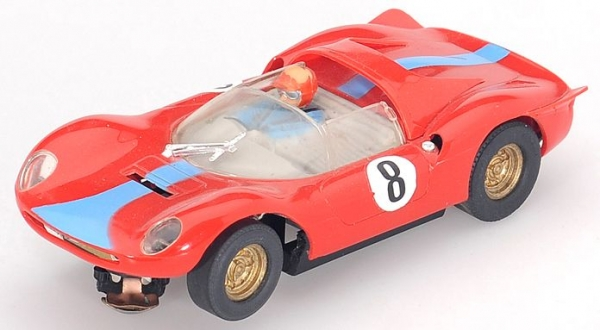 Carrera Ferrari Dino 166 Rennbahn-Modell mit Motor 1968