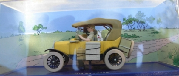 "Herge-Moulinsart ""Tintin ou Congo"" Ford-T Modell 1927 in Box"