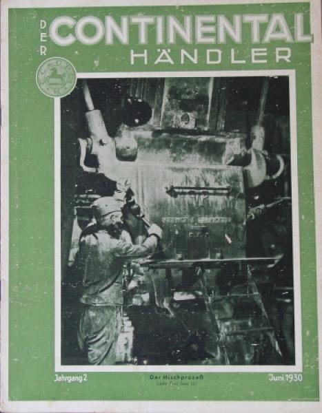 """Der Continental Händler"" Firmenmagazin 1930"