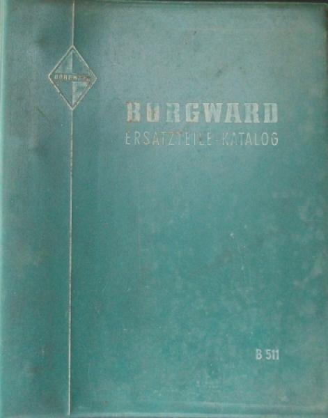 Borgward Ersatzteile-Katalog B 511 Leerordner 1958