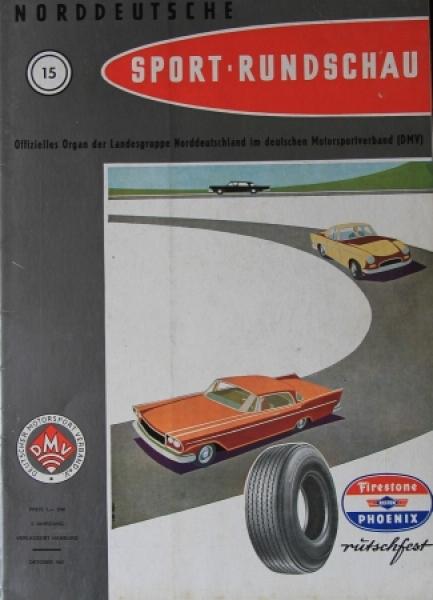 """""""Norddeutsche Sport-Rundschau"""" Sportmagazin 1961"""