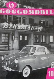 """Goggomobil"" 1958 Firmenmagazin"