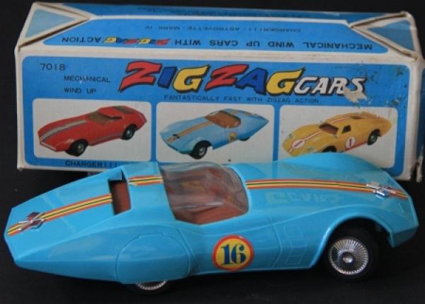 Bandai Astro-Corvette Zig-Zag-Car 1962 in Originalbox 1