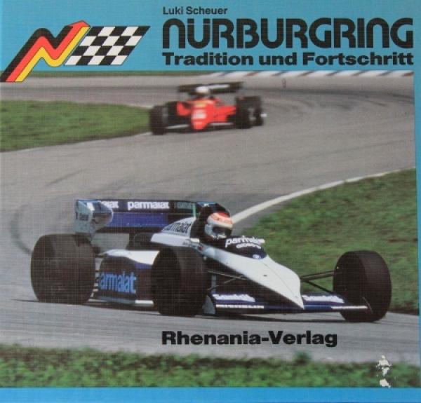 """Scheuer """"Nürburgring - Tradition und Fortschritt"""" Rennsporthistorie 1984"""