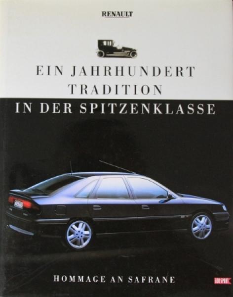 """Renault """"Ein Jahrhundert Tradition in der Spitzenklasse"""" Renault-Historie 1992"""