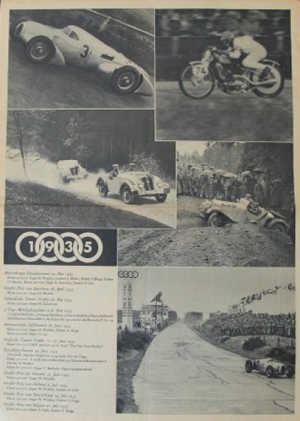 """Auto-Union Magazin"" Firmenmagazin 1935"