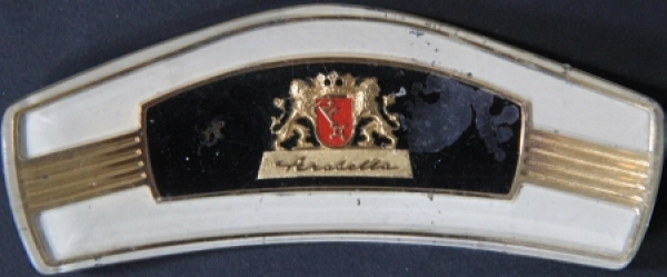 Lloyd Arabella Hupknopf-Emblem 1959