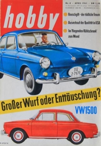 "Hobby ""VW 1500 - Großer Wurf oder Enttäuschung?"" Magazin 1961"