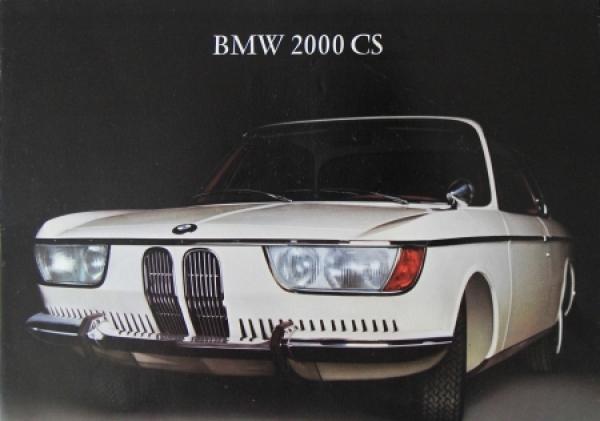 BMW 2000 CS Automobilprospekt 1966