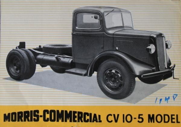 Austin Morris Commercial CV 10-5 Model 1948 Lastwagenprospekt