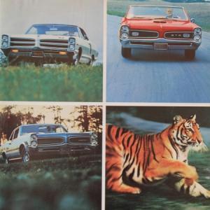 Pontiac GTO Modellprogramm 1965 Automobilprospekt