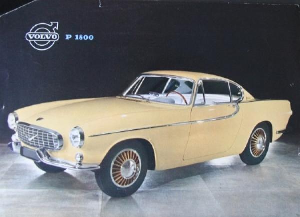 Volvo P 1800 Automobilprospekt 1960
