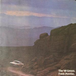 Pontiac Modellprogramm 1968 Automobilprospekt