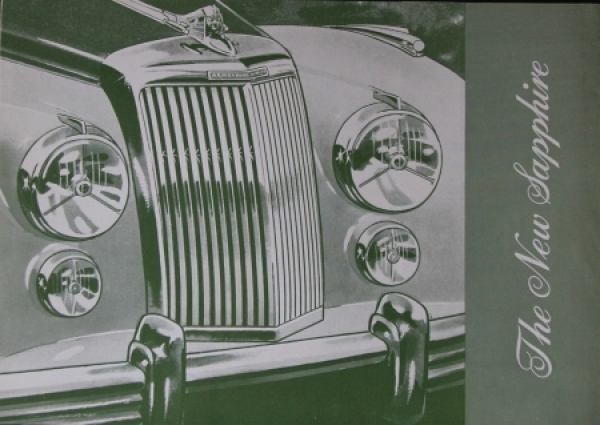 Armstrong Siddeley 346 Saphire 1956 Automobilprospekt