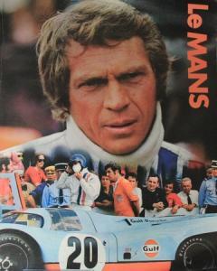 Porsche 917 Le Mans Originalfilmposter mit Steve McQueen 1971