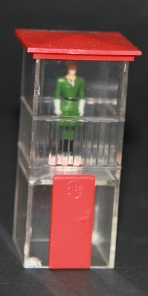 Siku Verkehrsturm mit Polizist V558 Plastikmodell 1958
