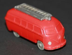 Wiking Volkswagen Bus T1 Feuerwehr unverglast Plastikmodell 1955