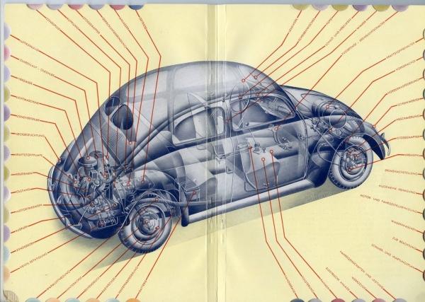 """KdF-Volkswagen Betriebsanleitung """"Der KdF-Wagen von A bis Z"""" 1938 1"""