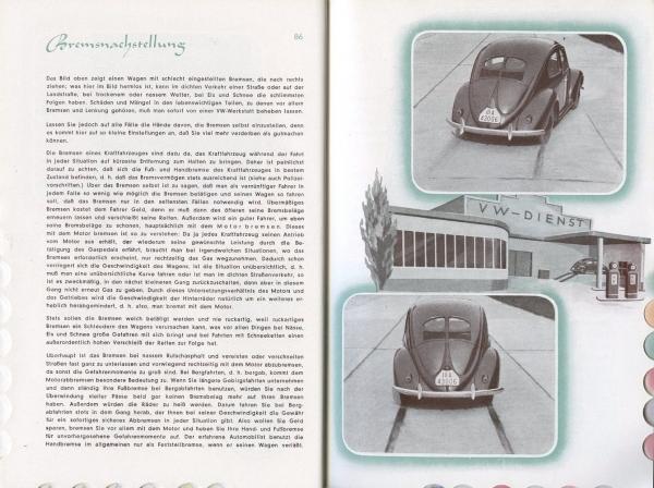 """KdF-Volkswagen Betriebsanleitung """"Der KdF-Wagen von A bis Z"""" 1938 2"""