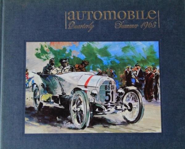 """""""Automobil Quarterly"""" Volume 2 Ausgabe 2 Autohistorie 1963"""