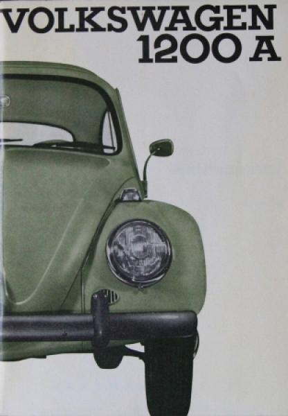 Volkswagen Käfer 1200 A 1964 Betriebsanleitung