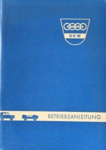 DKW Munga Geländewagen Betriebsanleitung 1959